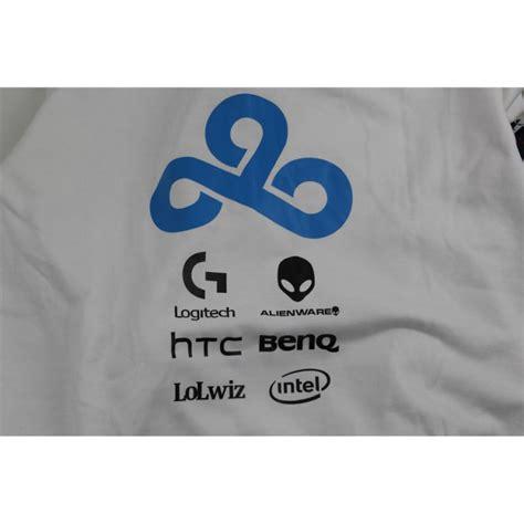 Zipper Dota 2 Cloud9 Navy lol gaming team cloud 9 c9 original design dota2 fleece hoody cloud9 hoodies