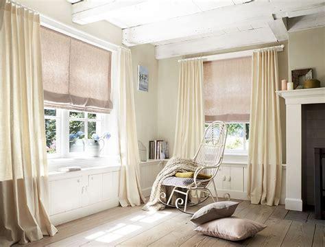 Helle Len Wohnzimmer sichtschutz im wohnzimmer moderne plissees gardinen und