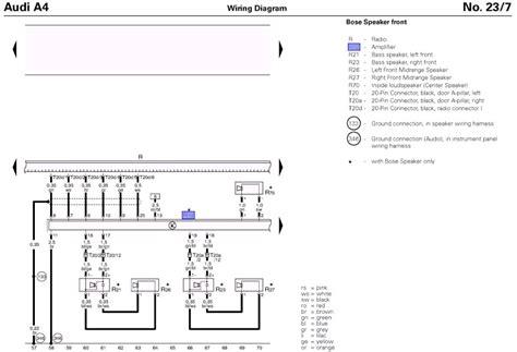 audi q7 lifier wiring diagram 28 images bose wiring