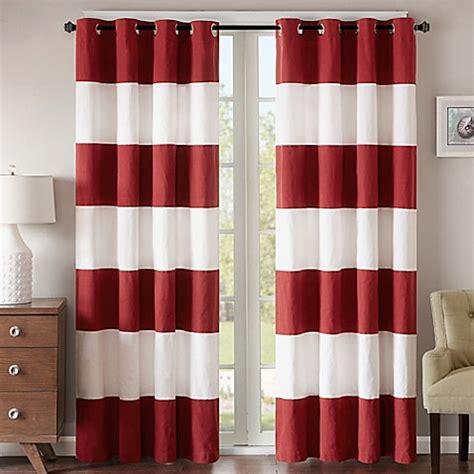 stripe grommet curtain panels regency heights parker stripe grommet top window curtain