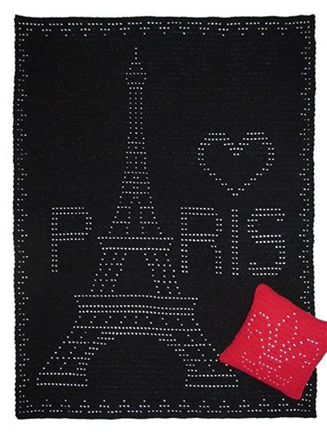 crochet pattern eiffel tower afghans fleur de lis and eiffel towers on pinterest