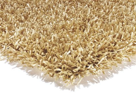 shaggy rugs metallica gold ribbon metallic look shaggy rug