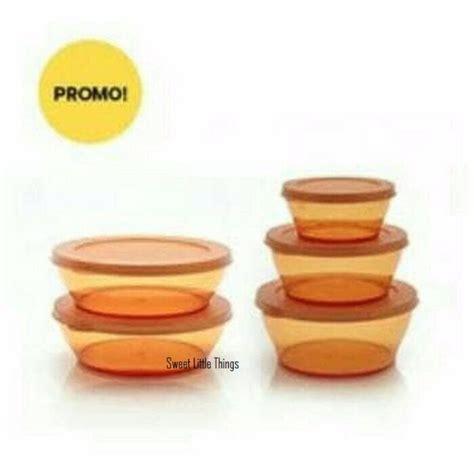 Bowl Tupperware tupperware clear bowl set 5 promo home appliances on