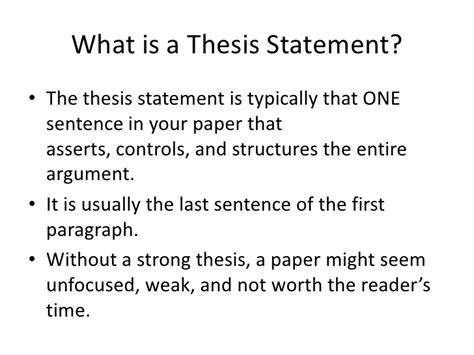 where is the thesis statement typically found in an essay scientific method research exle essay essay for you