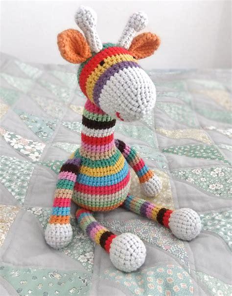 pattern for amigurumi giraffe stripy giraffe free amigurumi pattern