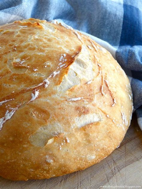 Shopgirl easy homemade artisan bread food bread pinterest