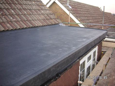 new epdm flat roof installed new epdm flat roof installed