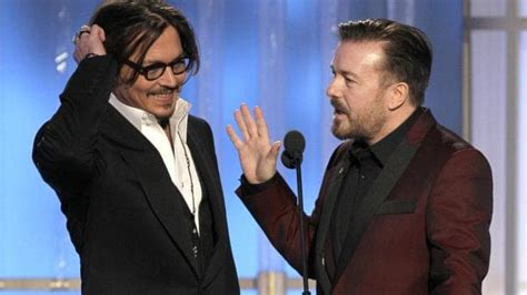 ricky247entertainment ricky gervais to host golden globes 2016 the courier mail