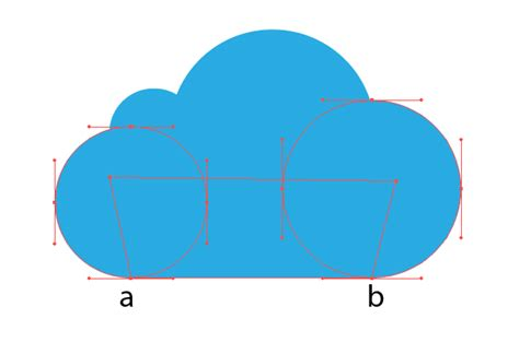 tutorial vector button how to create glass cloud icon in illustrator