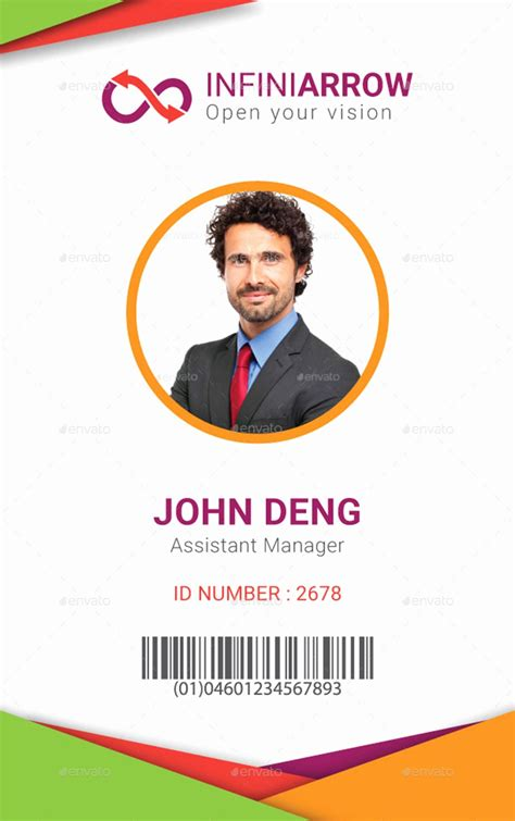 cool id card design template id card design transitionsfv