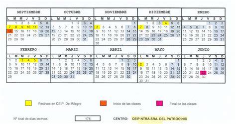 Calendario Escolar Aragon Curso 2015 16 Milagrotic Calendario Escolar Nuevo Curso 2015 2016 C