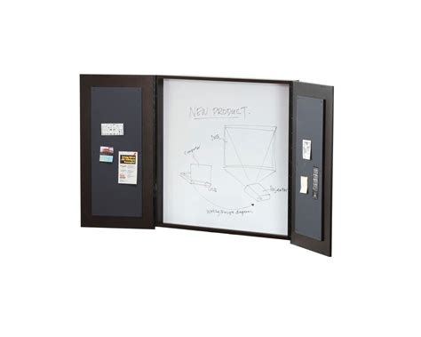 enclosed whiteboard cabinet with folding doors conference room whiteboard cabinet cabinets matttroy