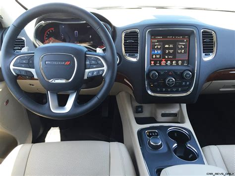 dodge durango interior 2016 road test review 2016 dodge durango by tim esterdahl