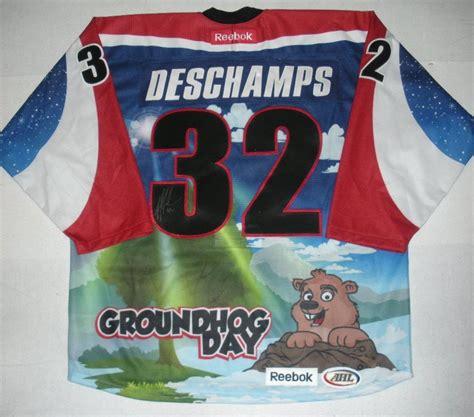 groundhog day auction nicolas deschs hershey bears groundhog day