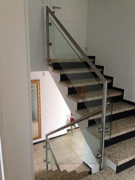 schiebetüren aus glas für innen treppengel 228 nder edelstahl roland berg f 252 rth