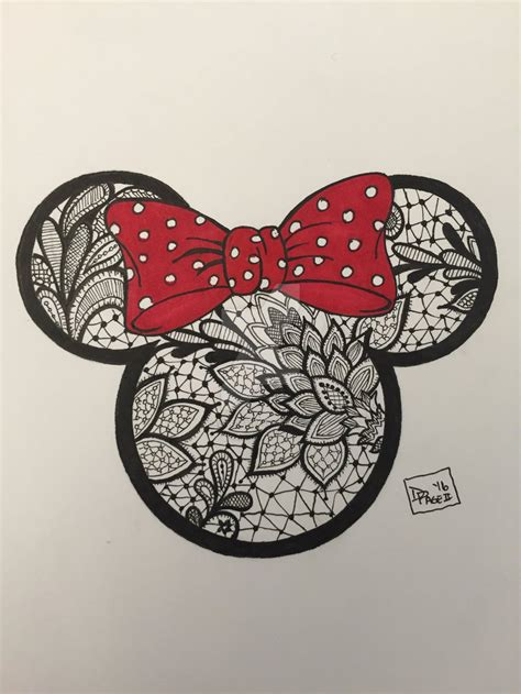 minnie mouse tattoo design by dalescott78 on deviantart