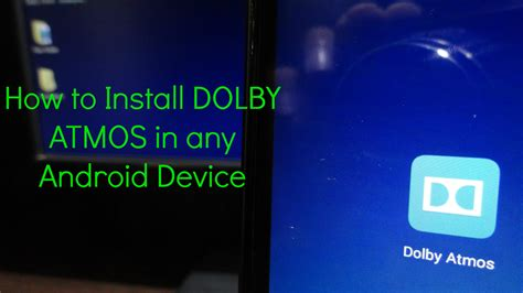 how to install dolby atmos on android download apk zip file install dolby atmos in any android device root youtube