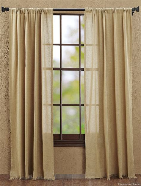 tobacco cloth curtains khaki tobacco cloth curtain panels natural home decor