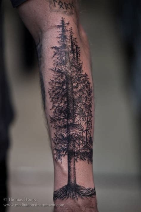 20 forest tattoos on sleeve
