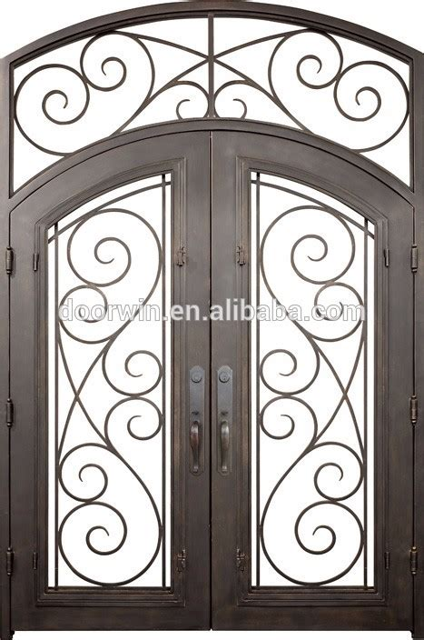 Iron Front Door Prices Iron Exterior Wrought Iron Door Steel Door Price View Iron Exterior Door Topbright Topbright