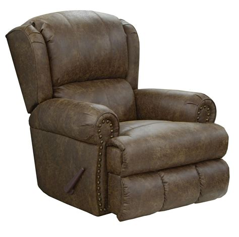 lay back recliner chair catnapper dempsey bonded leather deluxe power lay flat
