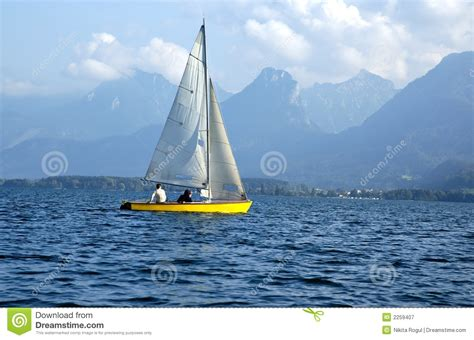 sailboat on lake sailboat on a lake royalty free stock photography image
