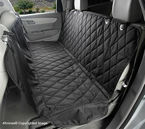 best back seat cover for dogs seat cover with hammock for cars trucks and suvs