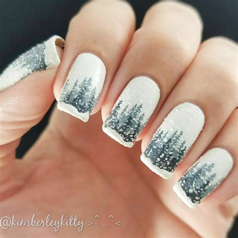 winter nail colors on pinterest winter nails nail 21 festive winter nails ideas to inspire