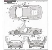 Lamborghini Aventador Model Car Color2