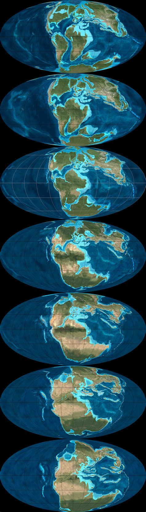 World Map 500 Years Ago by What Did The Continents Look Like Millions Of Years Ago