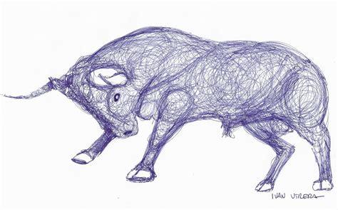 imagenes de amor para dibujar con lapicero dibujo a lapicero toro ivan utrera