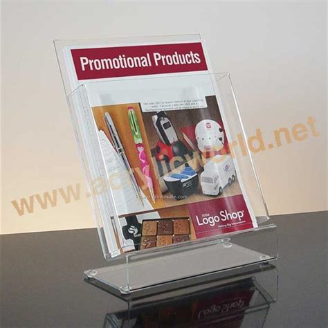 Harga Clear File clear acrylic magazine display for office
