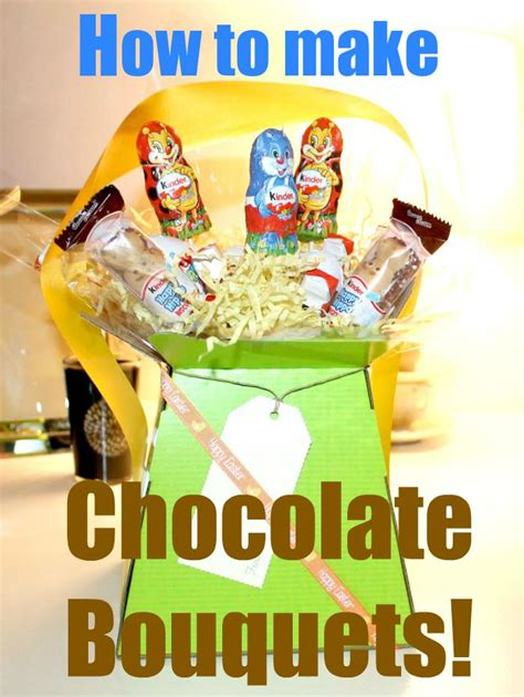 How To Make Candy by How To Make An Easy Homemade Chocolate Bouquet