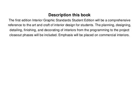 Interior Graphic Standards Pdf by Interior Graphic Standards Pdf Ebook Free