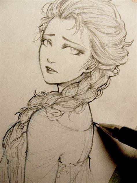 Frozen Elsa Doodle By Lehanan On Deviantart