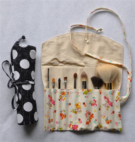 pattern for brush roll make up brush roll organizer pdf sewing pattern