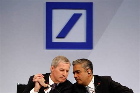 deutsche bank realtime why anshu jain of deutsche bank and his co ceo are