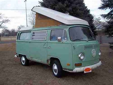 volkswagen westfalia 1970 sell used 1970 volkswagen pop top westfalia cer in