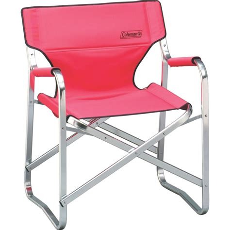 coleman steel deck chair portable deck chair coleman