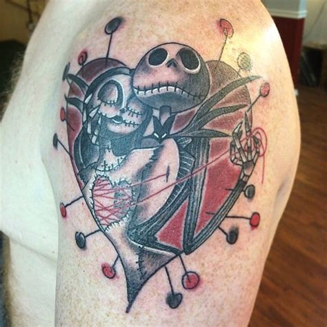 jack of hearts tattoo designs nightmare before the artful