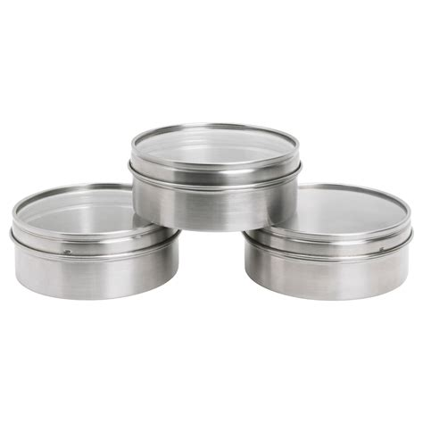 ikea stainless steel grundtal container stainless steel 10 cm ikea