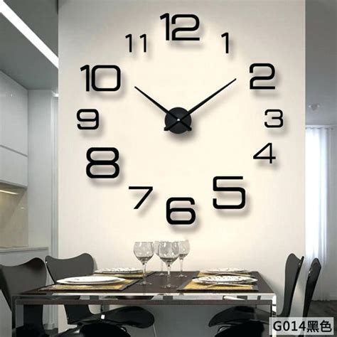 Large Wall Clock Modern by Large Wall Clocks Pointti Info