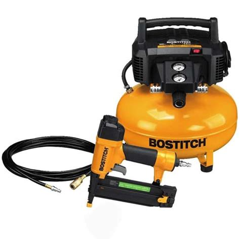 bostitch btfpkit sb bn brad nailer btfp air compressor combo kit ebay