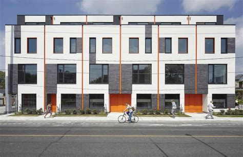 Plans For Garages by Modern Townhouses That Give Toronto A New Design Recipe