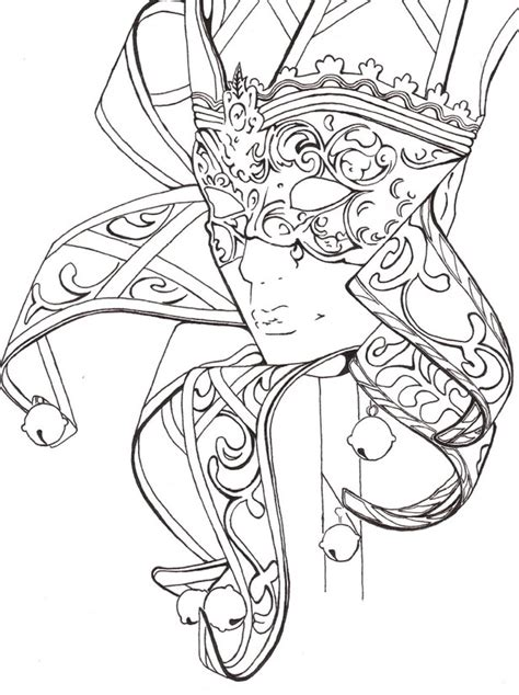 coloring pages for adults masks mask carnival fantasy coloring pages colouring adult