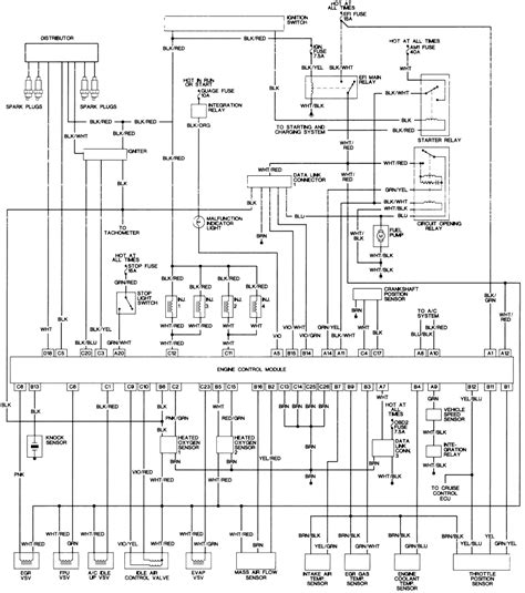 2000 tacoma wiring diagram horn wiring diagram with