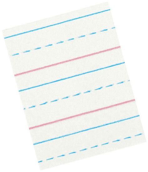 zaner bloser writing paper student ruled primary grade paper pads 085369 school