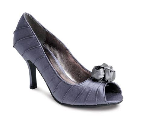 Grey Bridal Shoes by Wedding Heels Grey Silver Wedding Shoes Bridal Shoes With