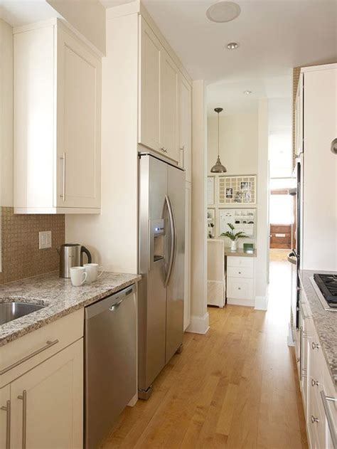 galley kitchen cabinets small kitchens cabinets and countertops on pinterest