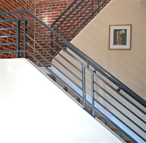 historic town home before and after modern railings